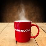 Takeuchi mok koffie