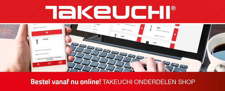 Takeuchi onderdelen shop promo